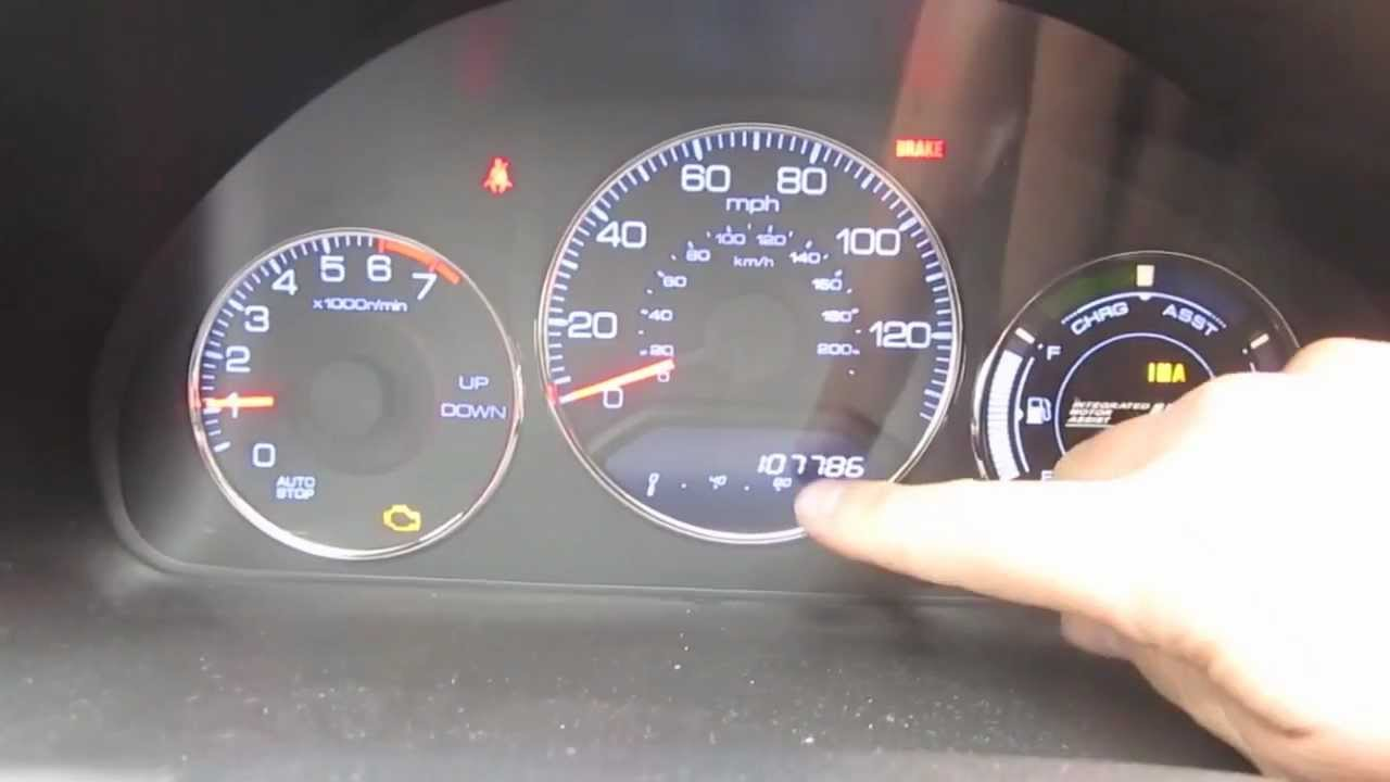 Honda Crv Warning Lights