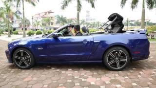 [XEHAY.VN] Ford Mustang California GT 2013 mui trần hàng hiếm tại Hà Nội