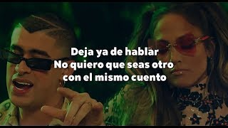 Jennifer Lopez Bad Bunny Te Guste LETRA.mp3
