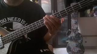 I LOVE U...I MISS U...4STRING BASS COVER