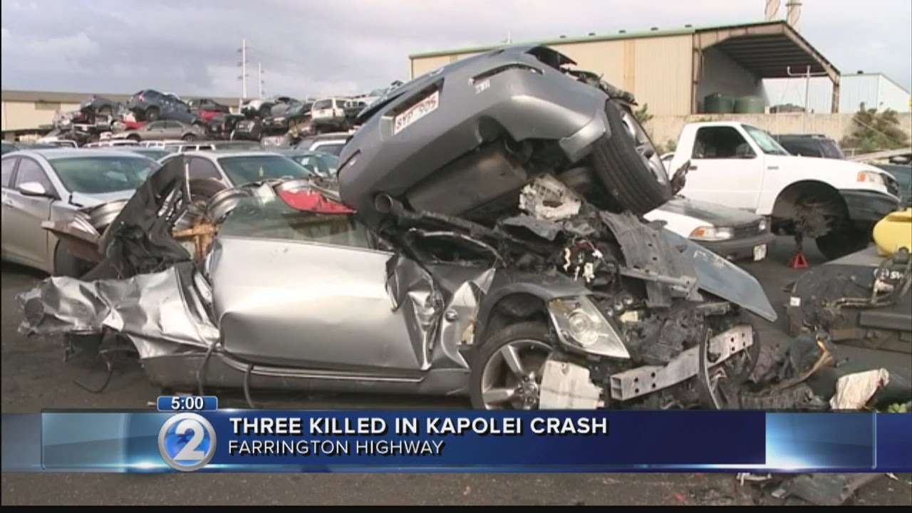 college confirms 2 of 3 killed in kapolei crash were