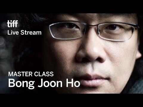 BONG JOON HO Master Class   Festival 2017