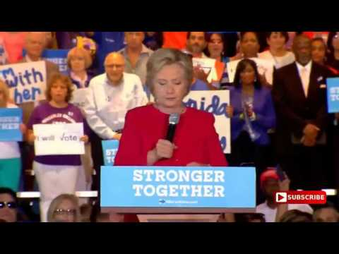 English sub Hillary Clinton Rally in Coconut Creek, Florida