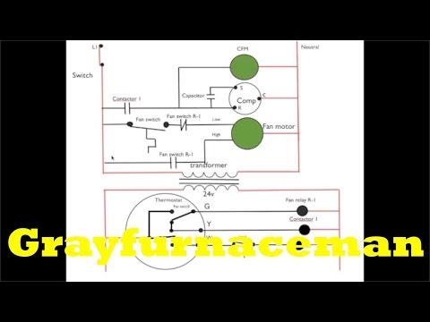 Schematic diagram #7. 2 sd fan switch. - YouTube on