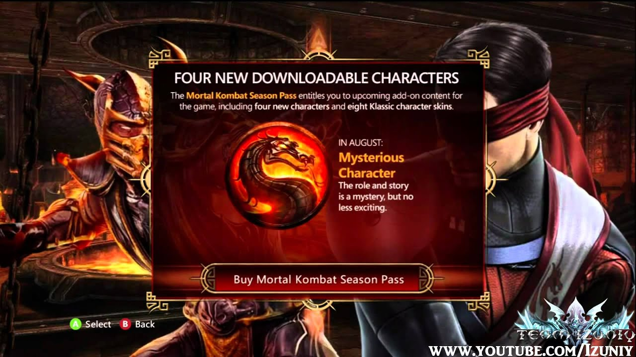 Mortal Kombat 9 Rain & Kenshi First look and next Mysterious DLC Character