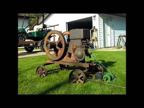 1917 1-1/2hp Hit N Miss Economy Engine