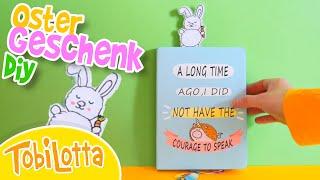 GESCHENKE BASTELN DIY mit Material Zuhause hast Ostern TobiLotta Kinder Bastelideen