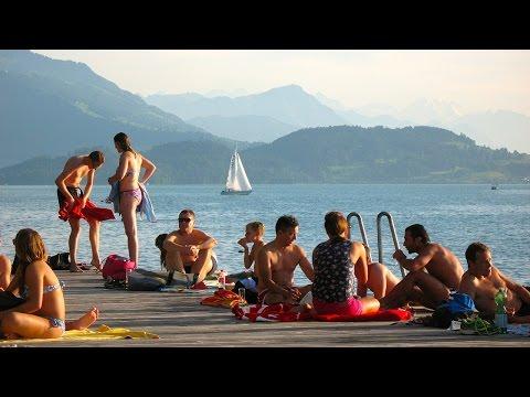 Ein Tag in der Seeliken - Seebad Seeliken in Zug
