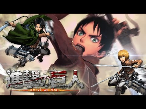 Brand New 'Attack On Titan' Details: 10 Playable Characters