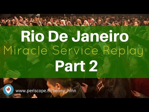 Watch the Miracle Service from Brazil - Part 2