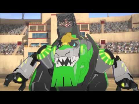 Transformers Robots in Disguise Grimlock vs Groundpounder
