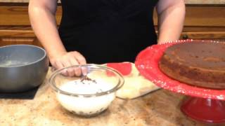 Chocolate Gluten Free Garbanzo Bean Cake