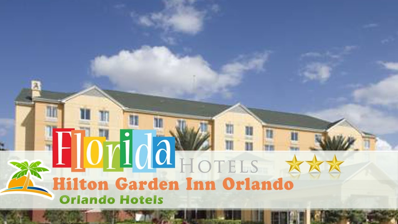 Hilton Garden Inn Orlando International Drive North Orlando Hotels Florida Youtube