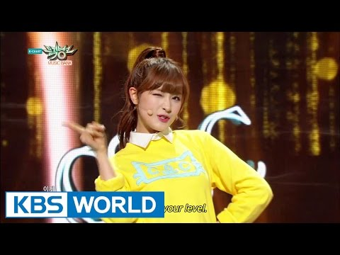 CLC - PEPE [Music Bank HOT Stage / 2015.04.03]