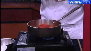 Making Meals With Marcus Restaurants: Baked Goat's Cheese With Garlic Tomato Sauce
