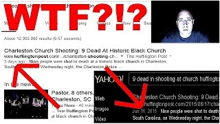 Huffington Post Reports Charleston Church Shooting 3 Days Ago?!?