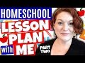 Homeschool Lesson Planning - Plan With Me - Math & Science & Social Studies