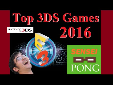 Top 3DS Games of E3 2016