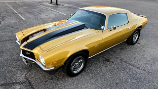 Test Drive 1970 Chevrolet Camaro 4 Speed SOLD for $19,900 Maple Motors