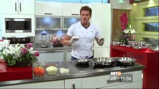 En La Cocina Con Gerónimo - Tacos De Queso Con Carne De Res Y Mangos Flameados, Parte 1
