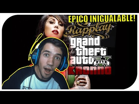 REACCIÓN | Grand Theft Auto V RAP - Kronno ( Videoclip Oficial ) ÉPICO INIGUALABLE!
