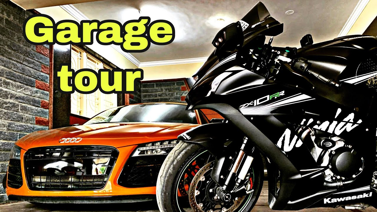 GARAGE TOUR / AUDI R8 BMW etc / CATCHAMILE