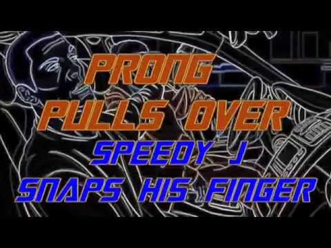 seed7e - speedy j  prong mash up - prong pulls over speedy snaps his finger