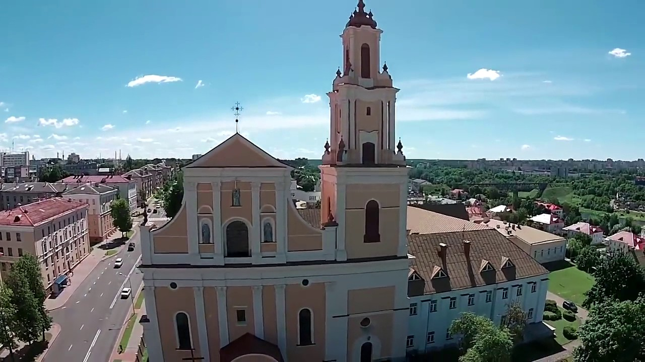 Old Town Grodno is the best in Belarus - YouTube