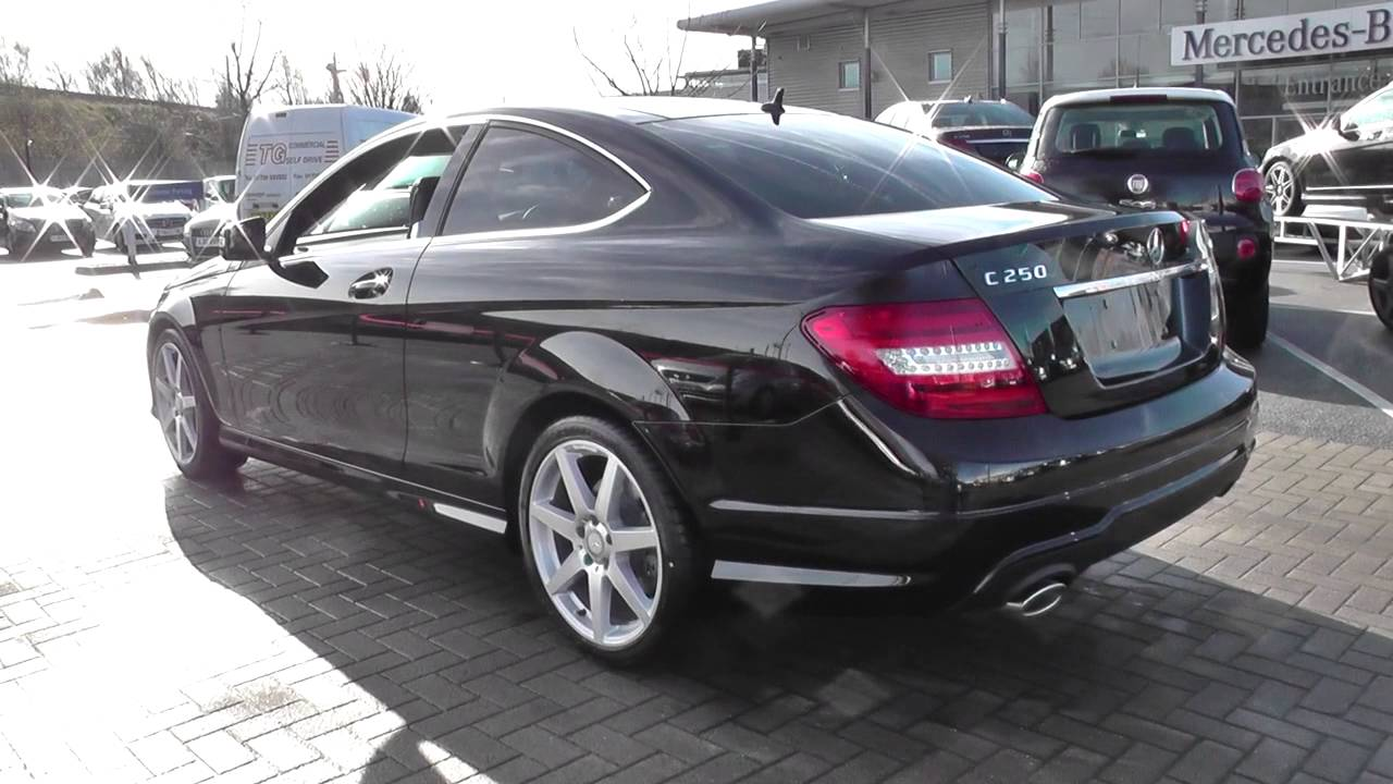 mercedes benz c class coupe c250 cdi amg sport u21204 youtube. Black Bedroom Furniture Sets. Home Design Ideas
