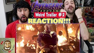 AVENGERS: ENDGAME Weird Trailer #2 | AVENGERS 4 PARODY by Aldo Jones - REACTION!!!