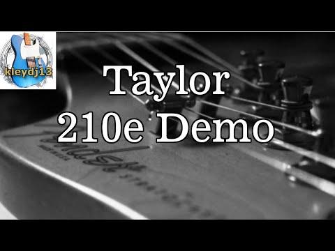 Taylor 210e Demo