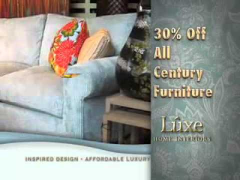 "Luxe Home Interiors - ""Century"" - August TV Spot"