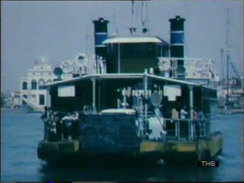 1970s Egypt | Port Said | Suez Canal | This Week | 1977
