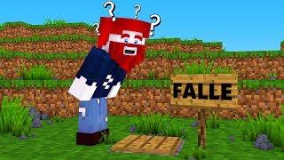 warum ist hier eine falle in minecraft