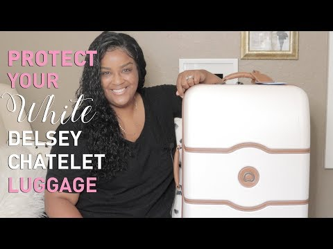 DELSEY CHATELET LUGGAGE COVER + WHAT'S IN MY BAG (2018) | itsagoldenlifestyle