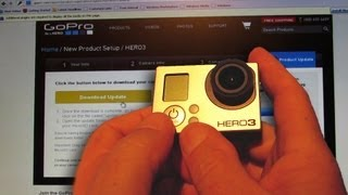 How to UPDATE GoPro Hero 3 Software - Step by Step Walkthrough