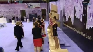 Церемония Награждения - Многоборье! Чемпионат Мира 2014 Измир(Видео принадлежит группе TEAM UKRAINE DAILY | Сезон 2014 | ЧМ 2014 https://vk.com/teamukrainedaily., 2014-09-26T21:06:13.000Z)