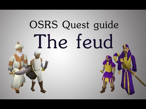 [OSRS] The feud quest guide