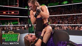 FULL MATCH - Nia Jax vs. Ronda Rousey – Raw Women's Title Match: WWE Money in the Bank 2018