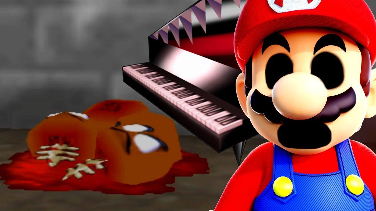 Super Mario 64 Roblox Rom Hack The Scary Piano Still Gives Me Nightmares Modded 8019c828 Super Mario 64 Creepypasta Rom Hack Youtube