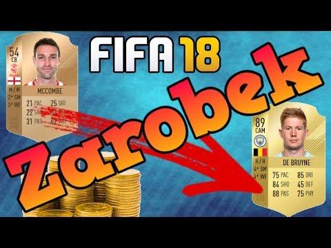 Fifa 18 - Sposób na zarabianie monet   200 tyś w 3-4 dni !