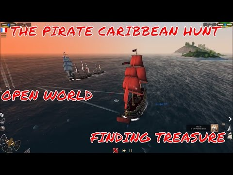 THE PIRATE CARIBBEAN HUNT LETS PLAY EP20 OPEN WORLD SAILING ALSO FINDING TREASURE