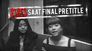 KOCAK! Jodie & Ghea Dilanda Stres Saat Final Pretitle #3