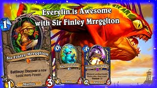 Everyfin is Awesome with Sir Finley Mrrgglton ~ Hearthstone The League of Explorers