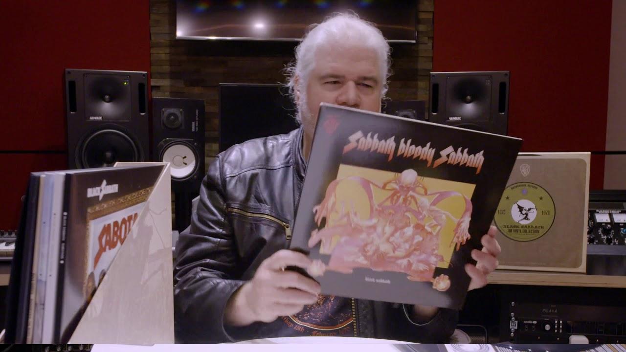 BLACK SABBATH - The Vinyl Collection Look Inside
