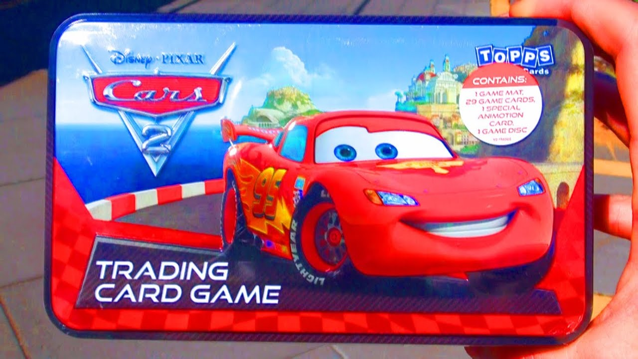 Awesome Cars 2 Trading Card Car Game with Exclusive Lightning ...