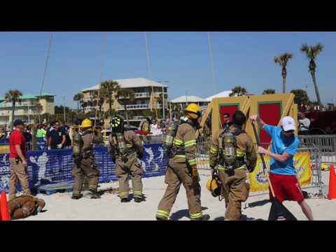 Pensacola Beach Firefighter Challenge 2016