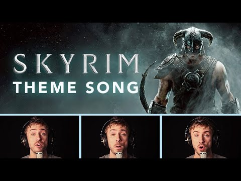 Skyrim Theme - Peter Hollens