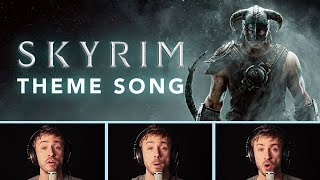 Skyrim Theme - Full (Dovahkiin Song)  Peter Hollens - A cappella Style