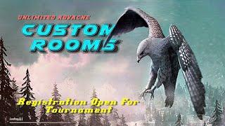 PUBG MOBILE LIVE - Unlimited custom room | FOR UC PAYTM |🔴 Tournament Registration open #pubgm #ss